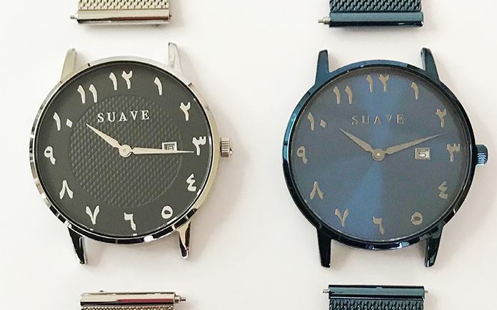 Interchangeable stainless steel mesh strap